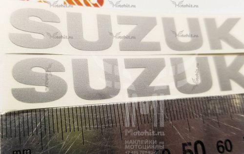 Маленькая надпись Suzuki 8см