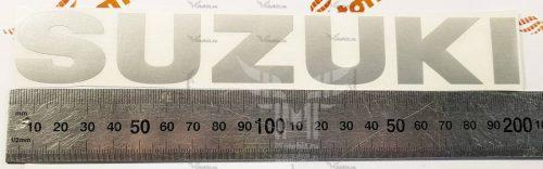 Средняя надпись Suzuki 20см