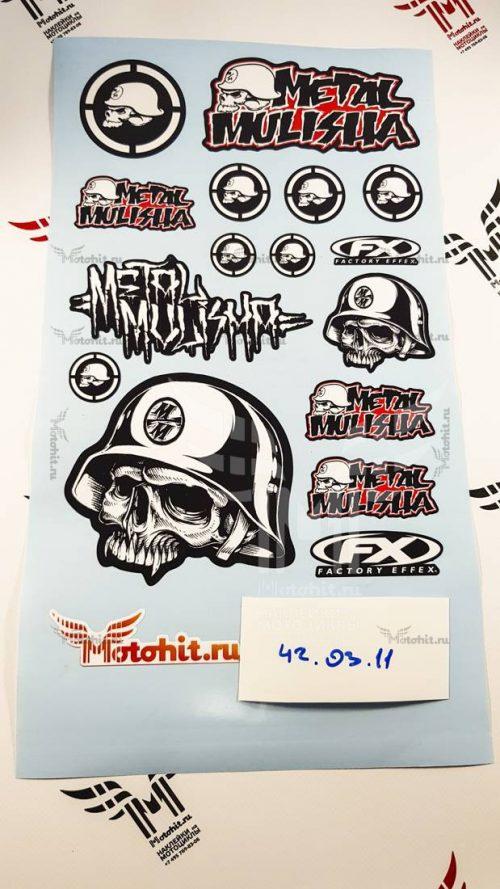 Лист Metal Mulisha