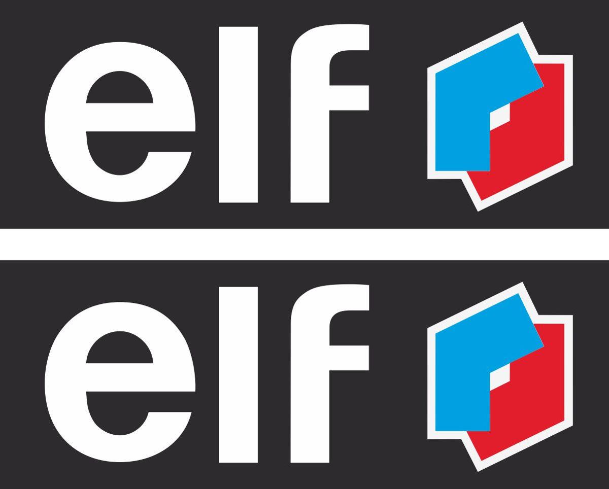Наклейка логотип ELF