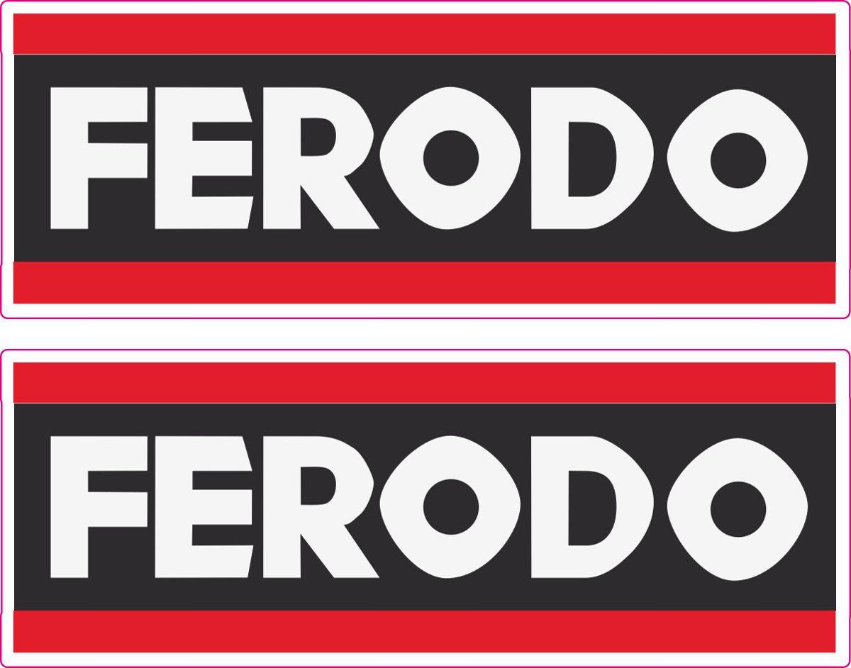 Наклейка логотип FERODO