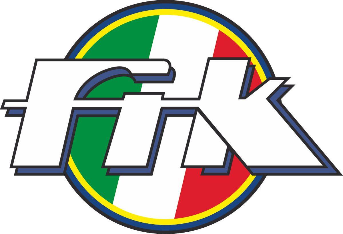 Наклейка логотип FIK