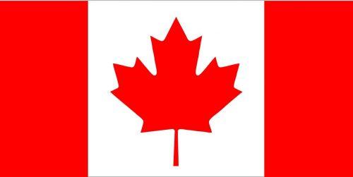 Наклейка логотип FLAG-CANADA
