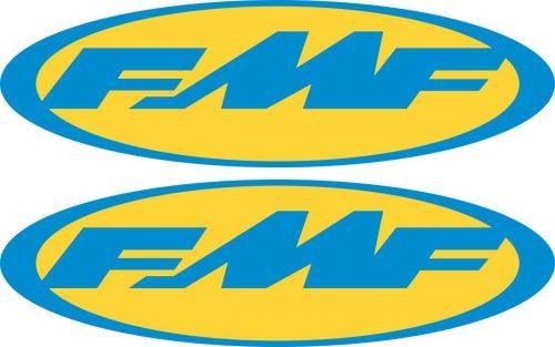 Наклейка логотип FMF-BLUE