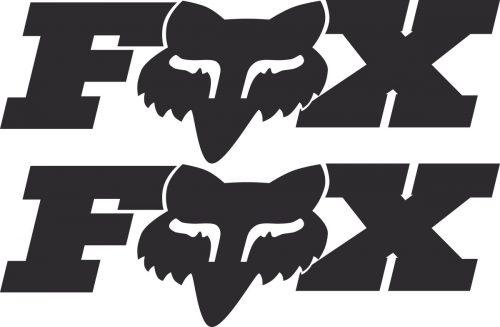 Наклейка логотип FOX-2