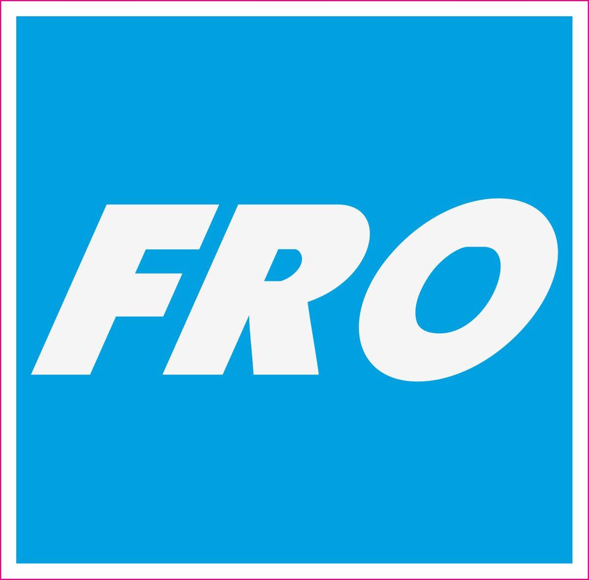 Наклейка логотип FRO