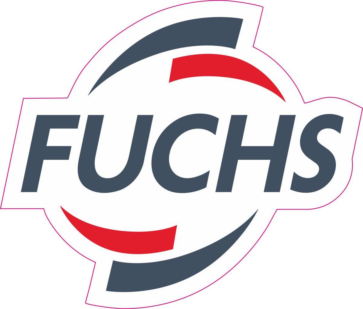 Наклейка логотип FUCHS