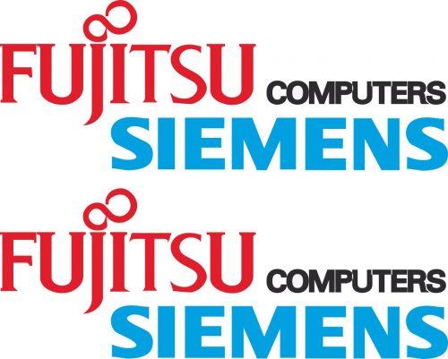 Наклейка логотип FUJITSU