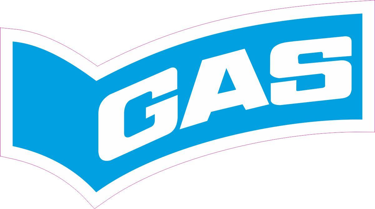 Наклейка логотип GAS-CLEAR