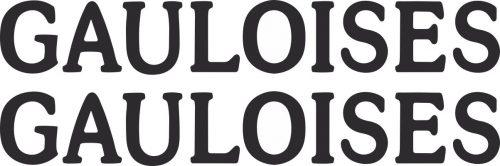 Наклейка логотип GAULOISES