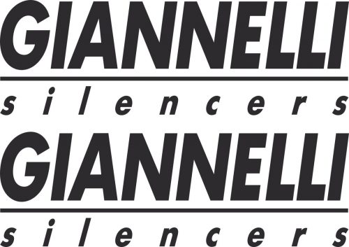Наклейка логотип GIANNELLI