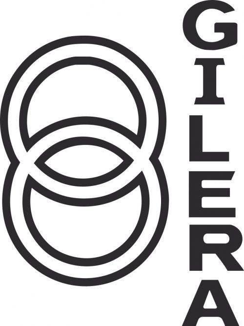 Наклейка логотип GILERA