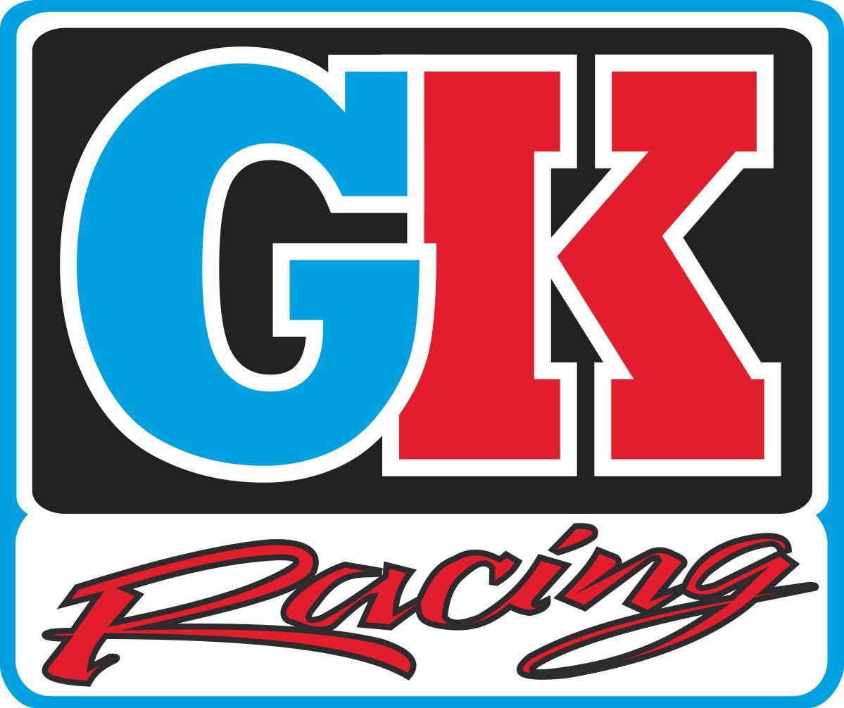 Наклейка логотип GK-RACING