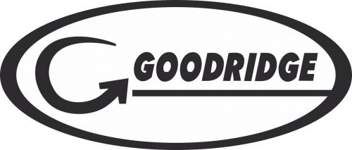 Наклейка логотип GOODRIDGE