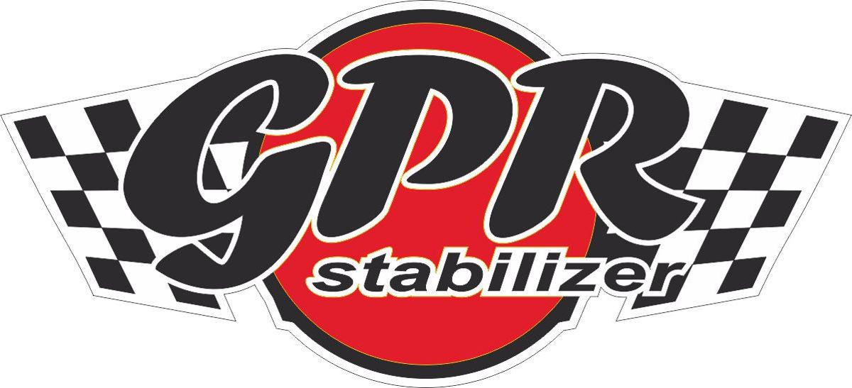 Наклейка логотип GPR-STABILIZER