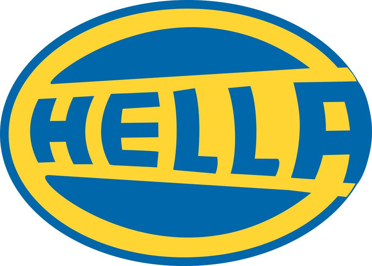 Наклейка логотип HELLA