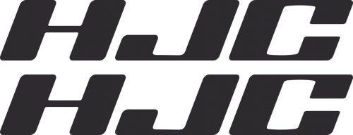 Наклейка логотип HJC