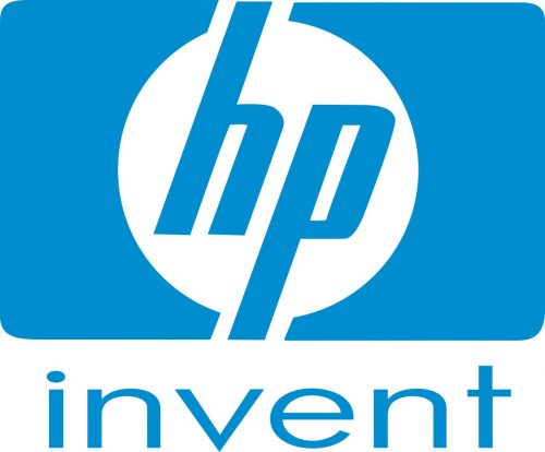 Наклейка логотип HP-INVENT