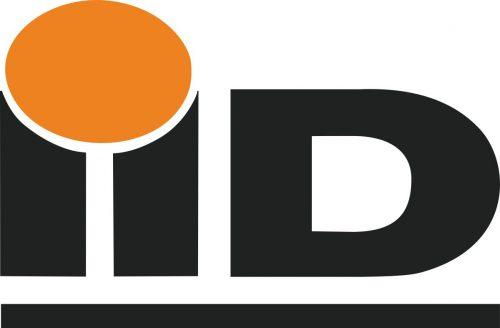 Наклейка логотип ID