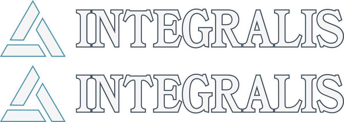 Наклейка логотип INTEGRALIS