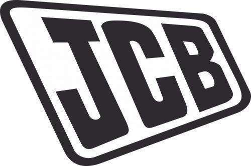 Наклейка логотип JCB