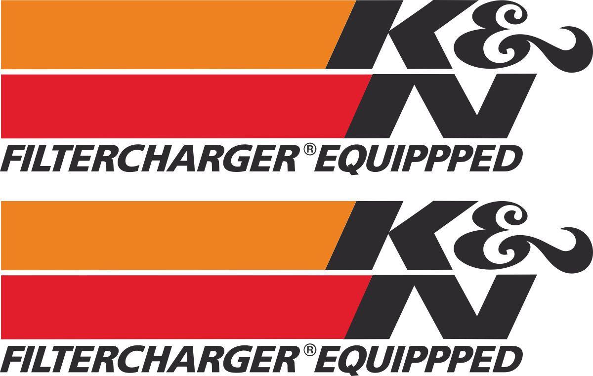 Наклейка логотип K&NFILTER