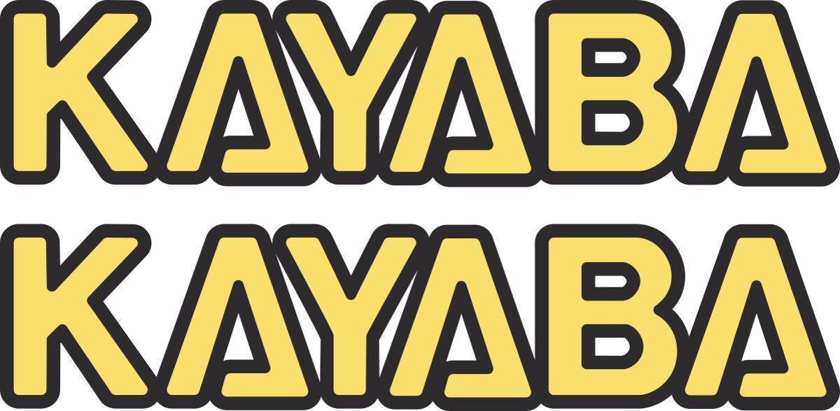 Наклейка логотип KAYABA