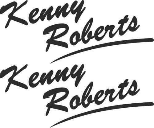 Наклейка логотип KENNY-ROBERTS