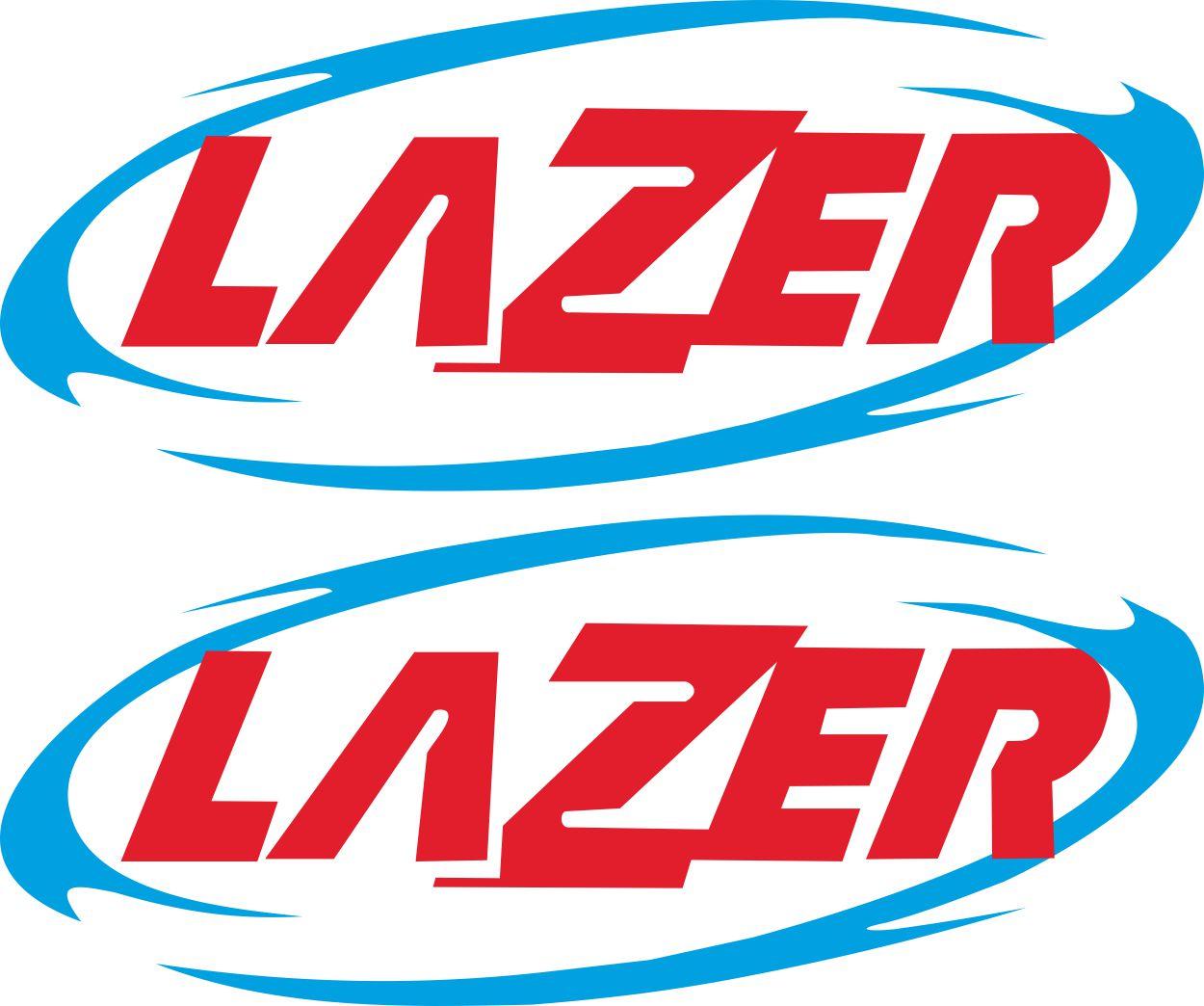 Наклейка логотип LAZER