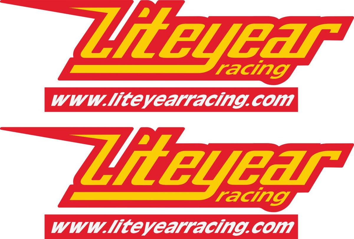 Наклейка логотип LIGHTYEAR-RACING