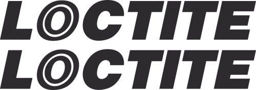 Наклейка логотип LOCTITE
