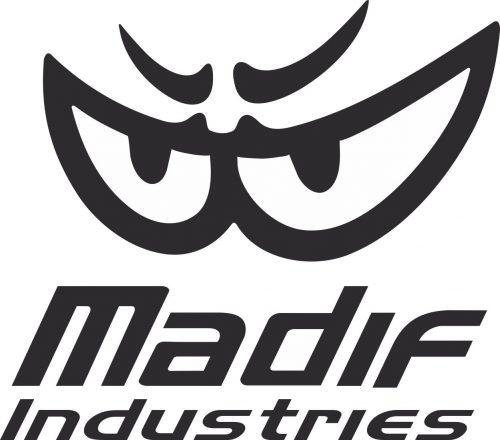 Наклейка логотип MADIF