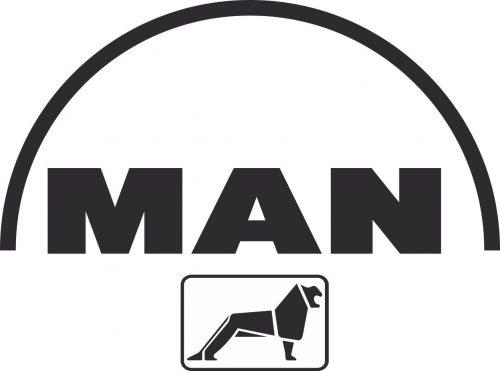 Наклейка логотип MAN
