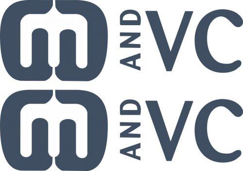 Наклейка логотип MANDVC