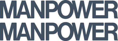 Наклейка логотип MANPOWER