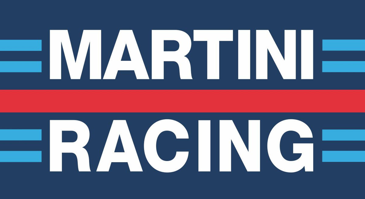 Наклейка логотип MARTINI-RACING