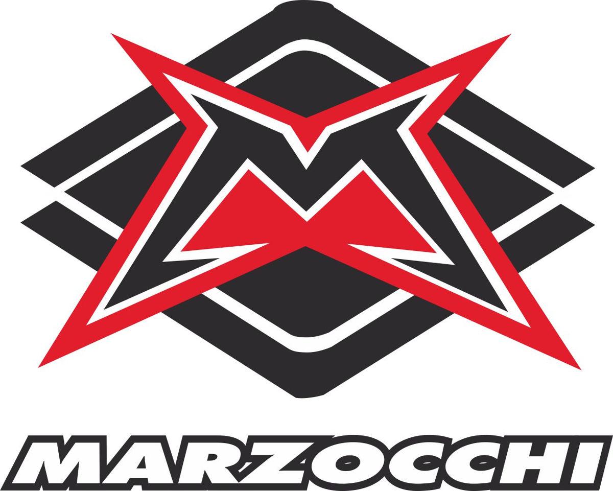 Наклейка логотип MARZOCCHI-SQUARE