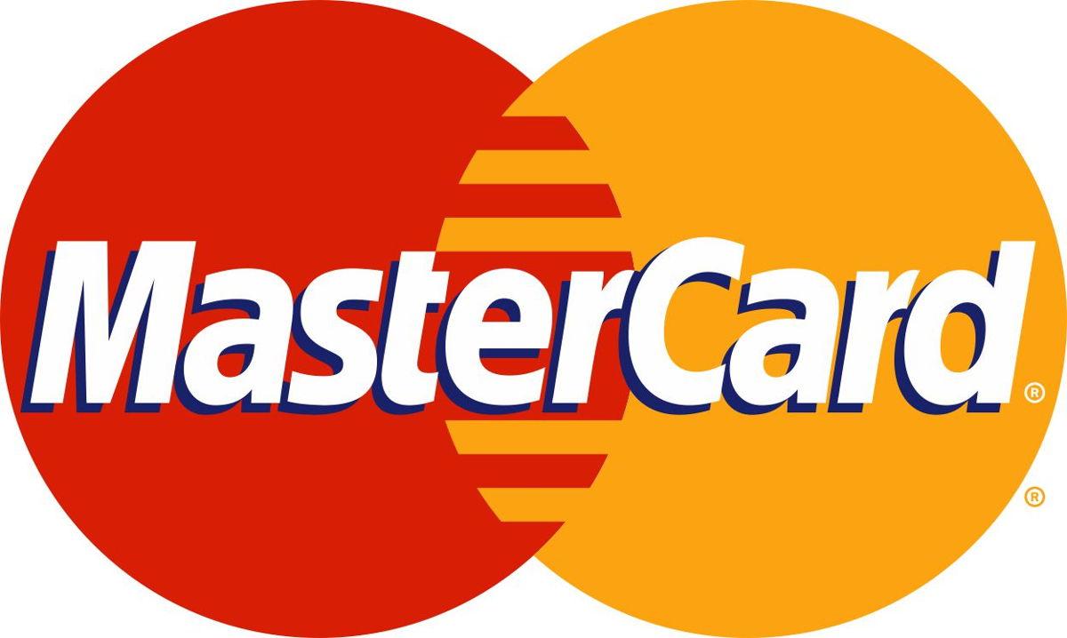 Наклейка логотип MASTER-CARD
