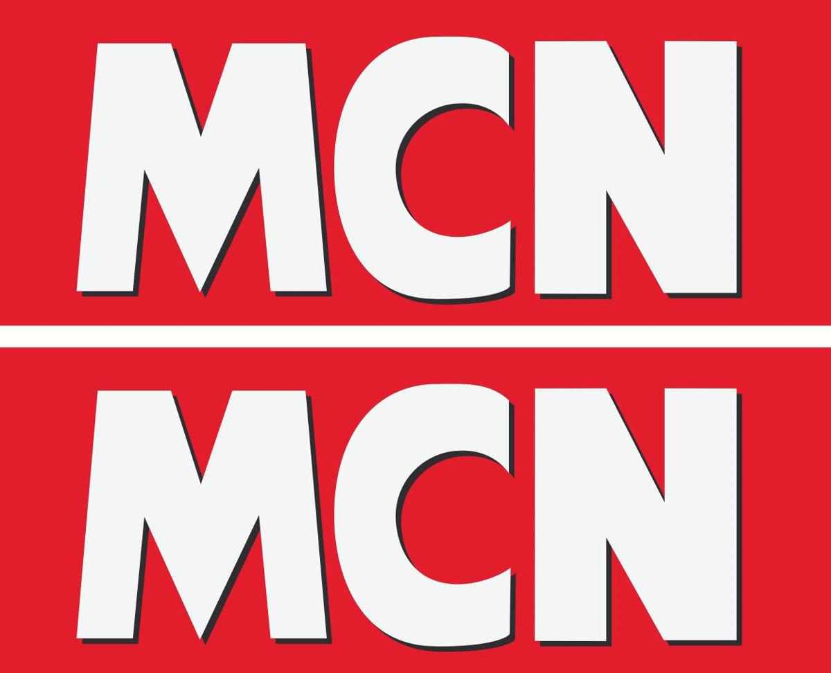 Наклейка логотип MCN