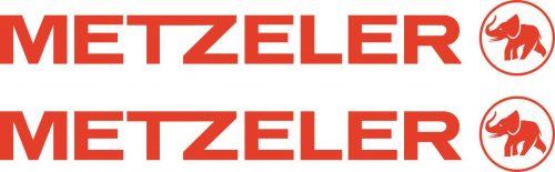 Наклейка логотип METZELER