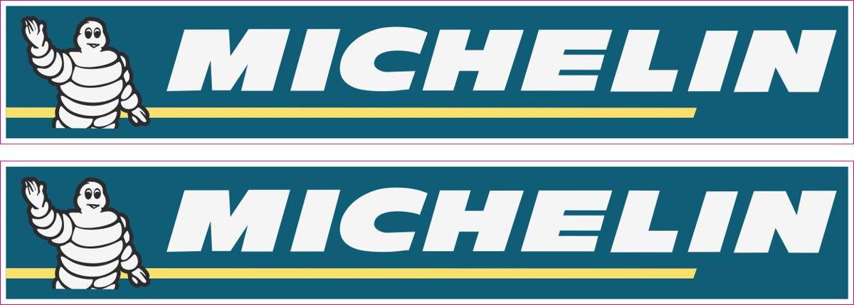 Наклейка логотип MICHELIN-BIBENDUM