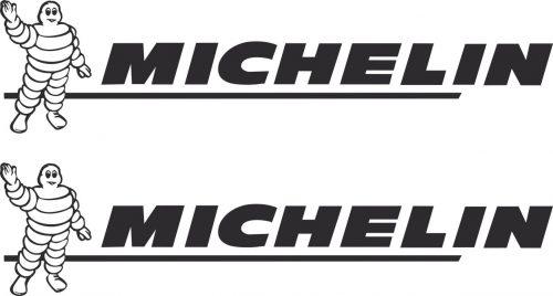 Наклейка логотип MICHELIN-BIBENDUM-1
