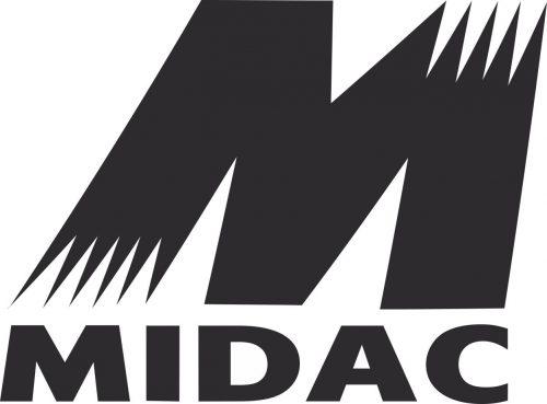 Наклейка логотип MIDAC