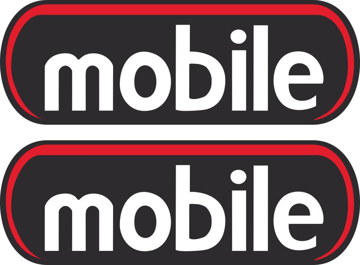 Наклейка логотип MOBILE