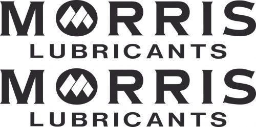 Наклейка логотип MORRIS