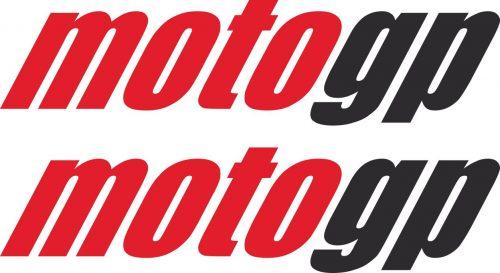 Наклейка логотип MOTO-GP-TXT