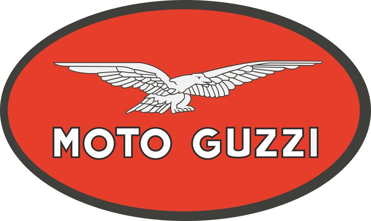 Наклейка логотип MOTO-GUZZI-2