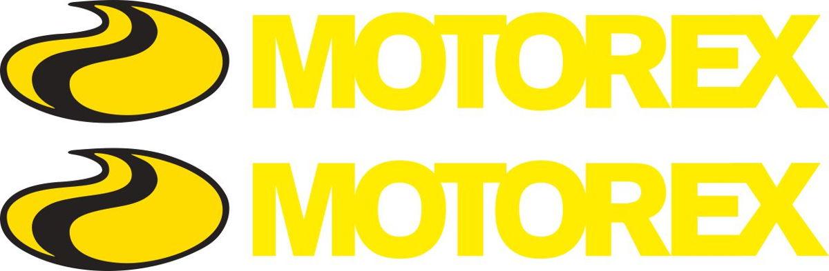 Наклейка логотип MOTOREX
