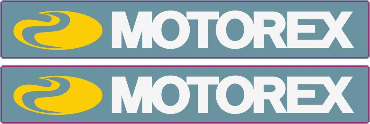 Наклейка логотип MOTOREX_1