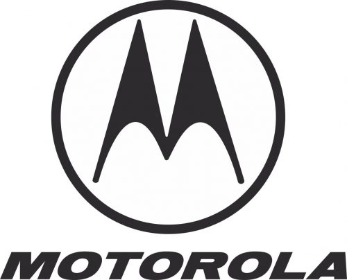 Наклейка логотип MOTOROLA